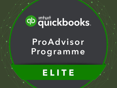 We're a QuickBooks Elite Partner!