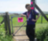 Liam Pipe charity walk