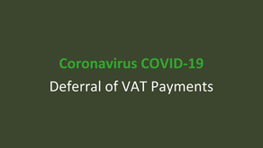 COVID-19 Deferral of VAT Payments