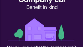Company Car: Benefit in kind