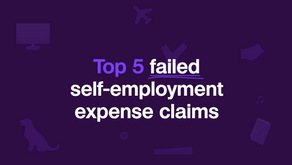Top 5 failed self-employment expense claims