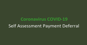 COVID-19 Self Assessment Payment Deferral