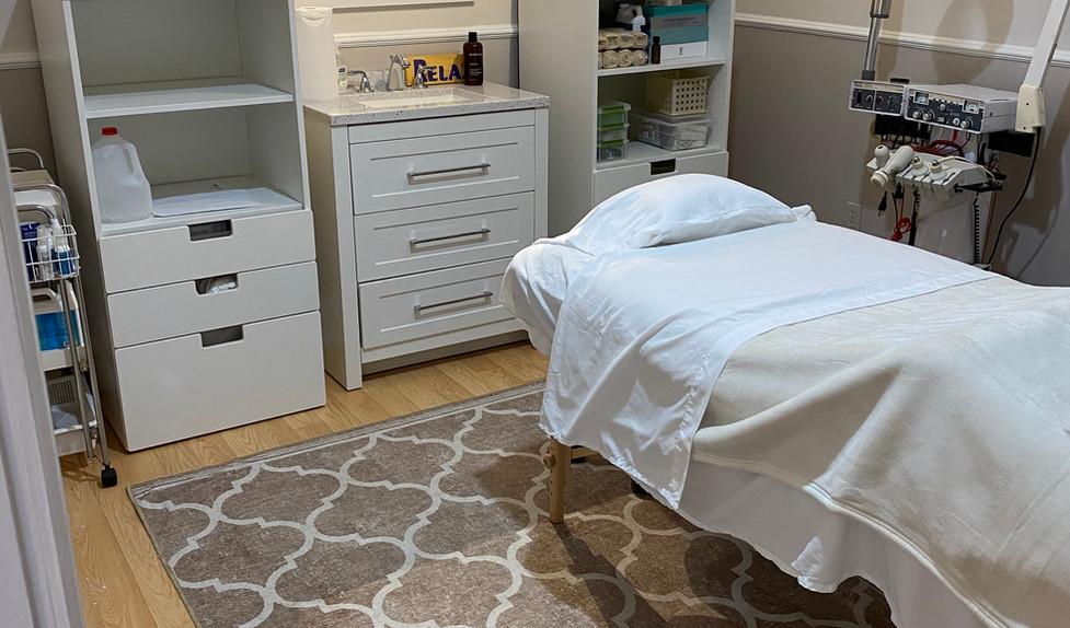 Waxing & Skin Treatment Room