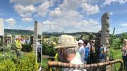 Sunnwend- Geigenwanderung im Stoareich und Lemuriengarten im Reitinger Steinbruch in Aigen