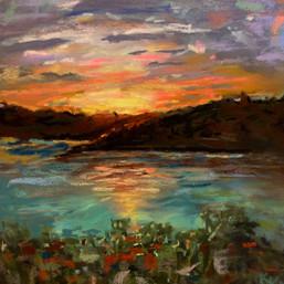 Sunset on Little Exuma