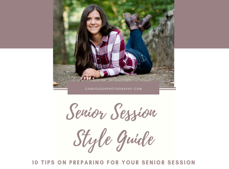 Senior Session Style Guide | Cara Olson Photography