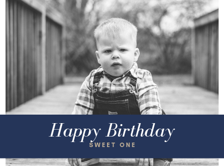 This Guy Just Turned One | West Michigan Family Photographer