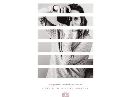 BEHIND THE LENS | CARA OLSON PHOTOGRAPHY