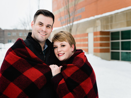 A WINTER LOVE STORY   ALLENDALE PHOTOGRAPHER