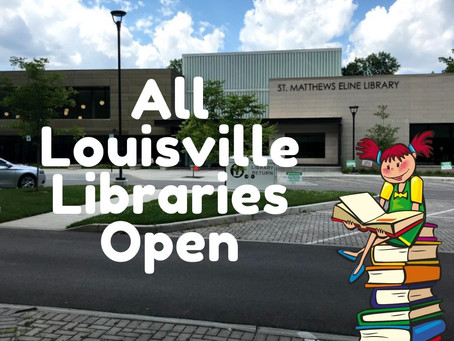 Louisville Free Public Libraries Are Officially Open