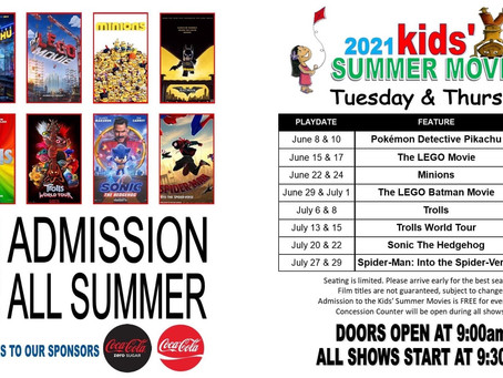 Free Kids Movies All Summer at Blankenbaker Xscape Theaters