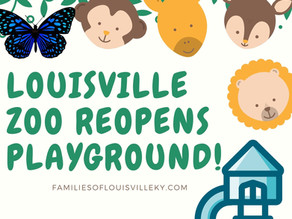 Louisville Zoo Reopens Playground
