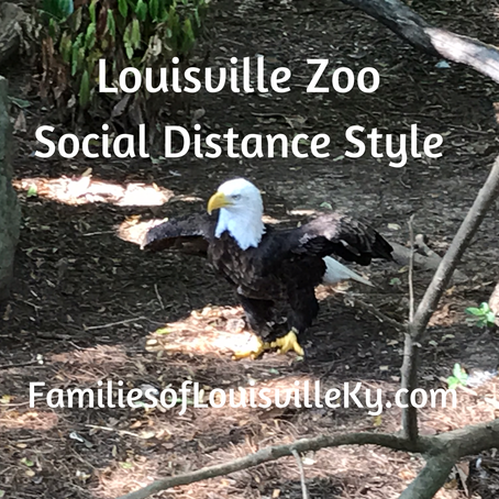 Louisville Zoo Social Distance Style