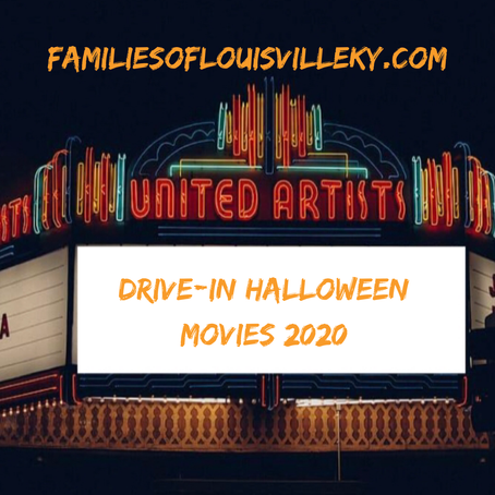 Drive-In Halloween Movies 2020