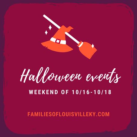 Halloween Events Weekend of 10/16-10/18