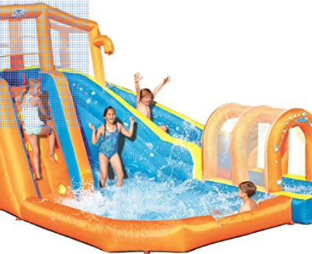 Hurricane Tunnel Blast Inflatable Water Play Center
