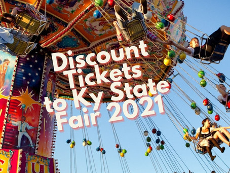 Discount Admission to Kentucky State Fair