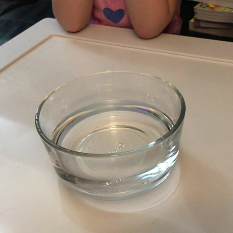 Teaching kids about germs experiment