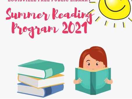 Summer Reading Program at Louisville Free Public Library 2021