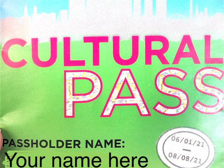 Culture Pass from the library 2021