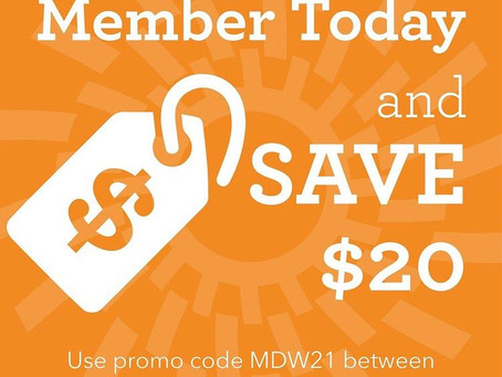 Offer Expired Memorial Weekend 2021 only $20 off Ky Science Center Membership