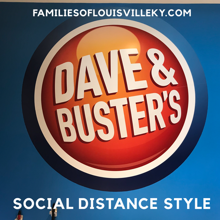 Dave and Busters Social Distance Style