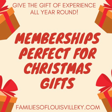 Memberships Perfect for Christmas Gifts