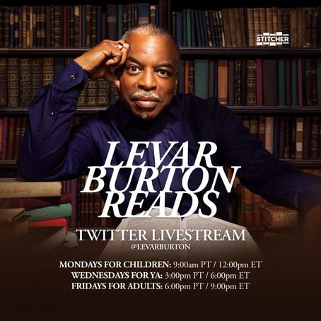 LaVar Burton Reads Live
