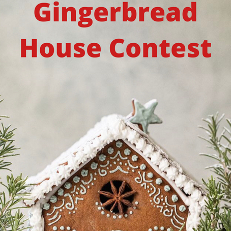 Families of Louisville Gingerbread House Contest