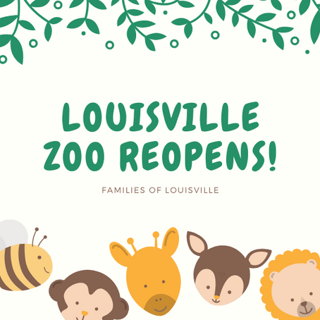 The Louisville Zoo gets a reopening date