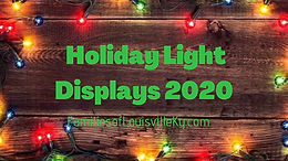 Holiday Light Displays 2020
