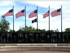 Veteran's Memorial Park in Jeffersontown