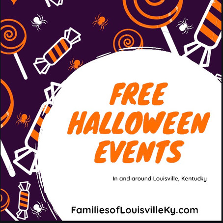 Free Halloween Events in and around Louisville