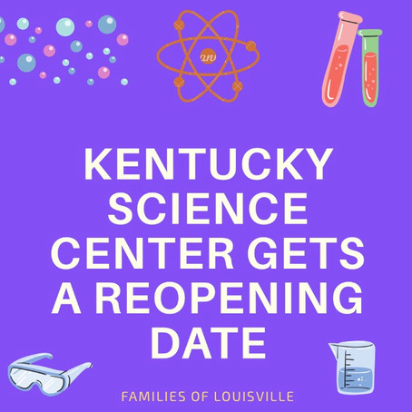 Kentucky Science Center Gets A Reopening Date