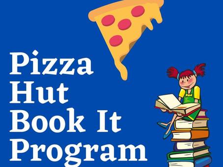 Pizza Hut Book It Program! Earn Free Pizza by Reading! 2021