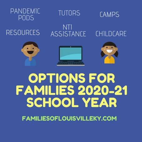 NTI Assistance, Camps and Options for Families 2020-21 School Year