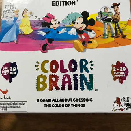 Disney Color Brain Game- Review