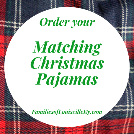 Adorable Matching Holiday Pajamas for the whole family