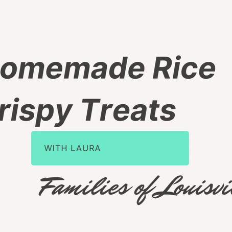 Homemade Rice Krispy Treats