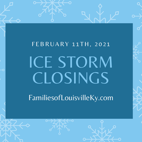 Ice Storm Closings February 11, 2021