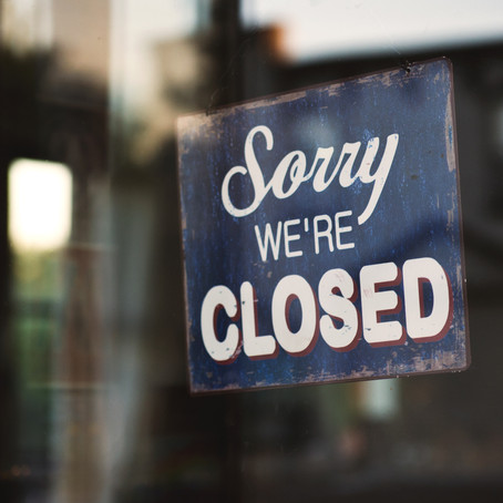 Local Businesses that closed their doors