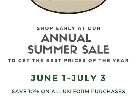Shaheen's offers discount for Uniforms June 1- July 3, 2021