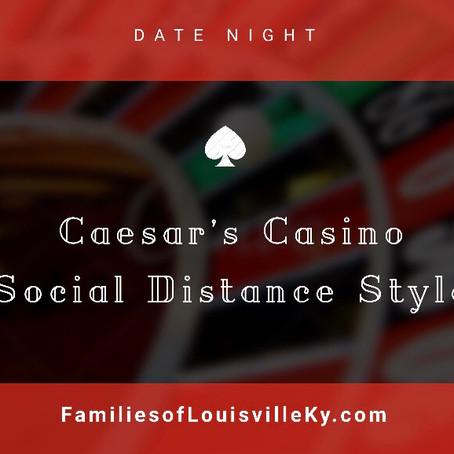 Caesar's Casino Social Distance Style