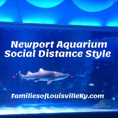 Newport Aquarium Social Distance Style