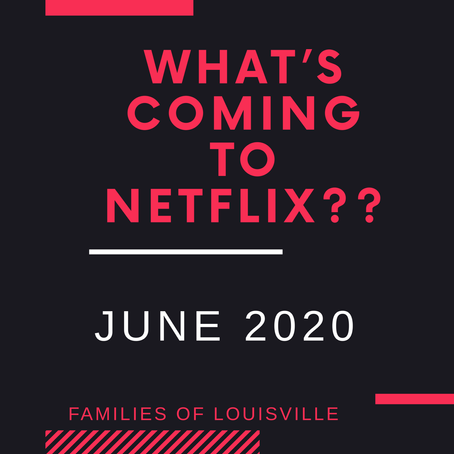 What's coming to Netflix June 2020
