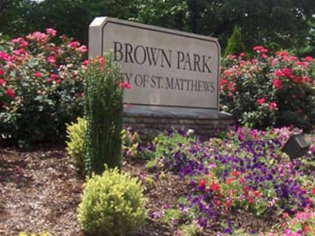 Brown Park in St. Matthews