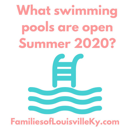 What Swimming Pools are open Summer 2020?