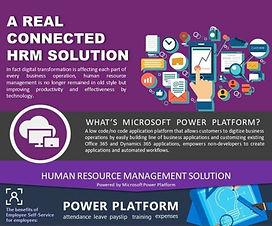 Power Platform - HRM Solution (人力資源管理系統)