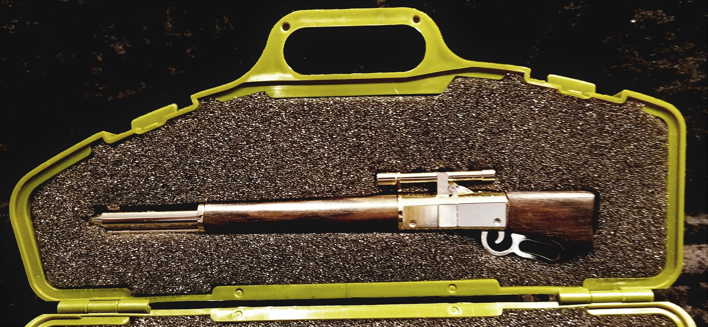 Rifle & Case