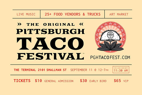 Vending Space @ Pgh Taco Festival 2021